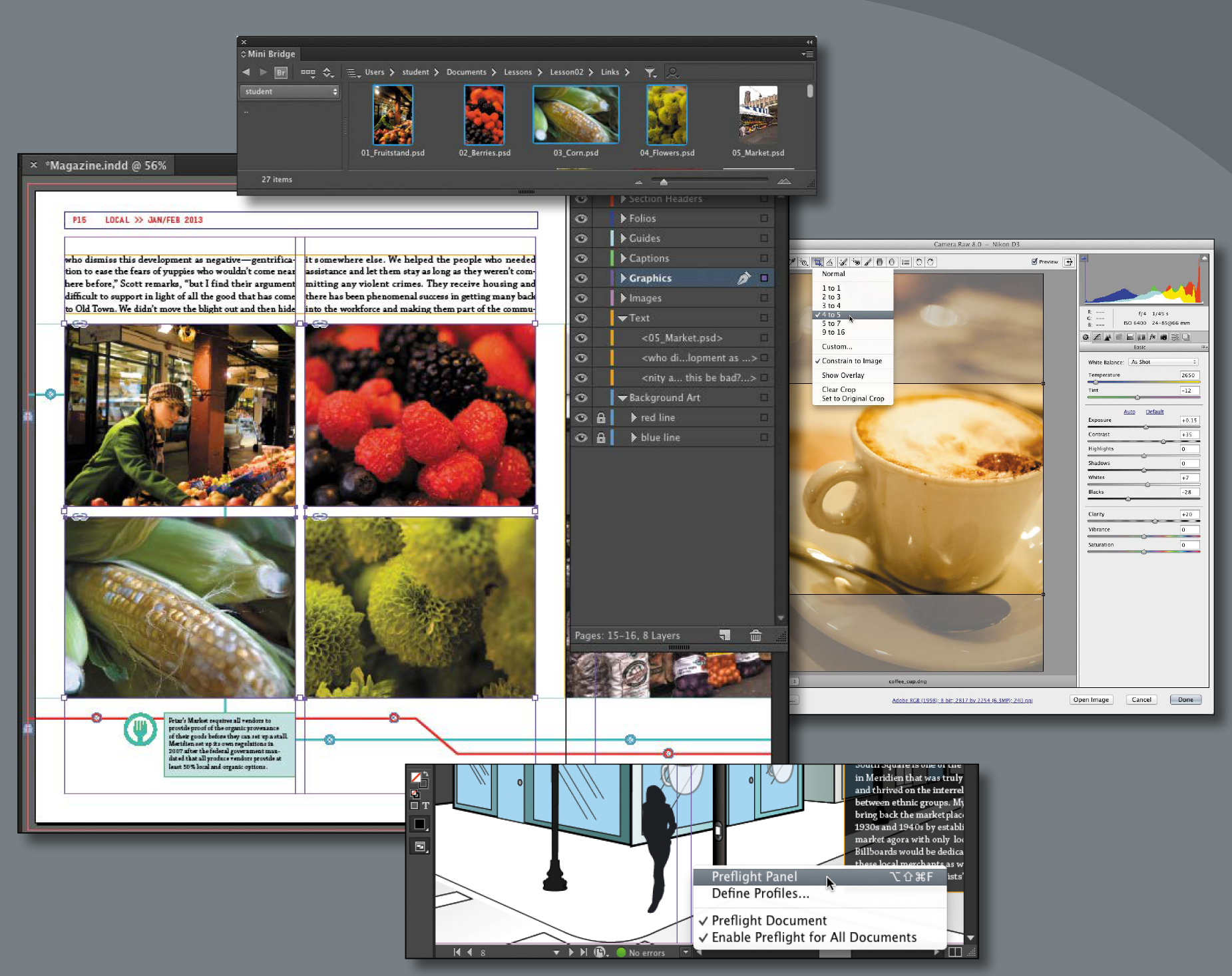 Creating a Magazine in InDesign