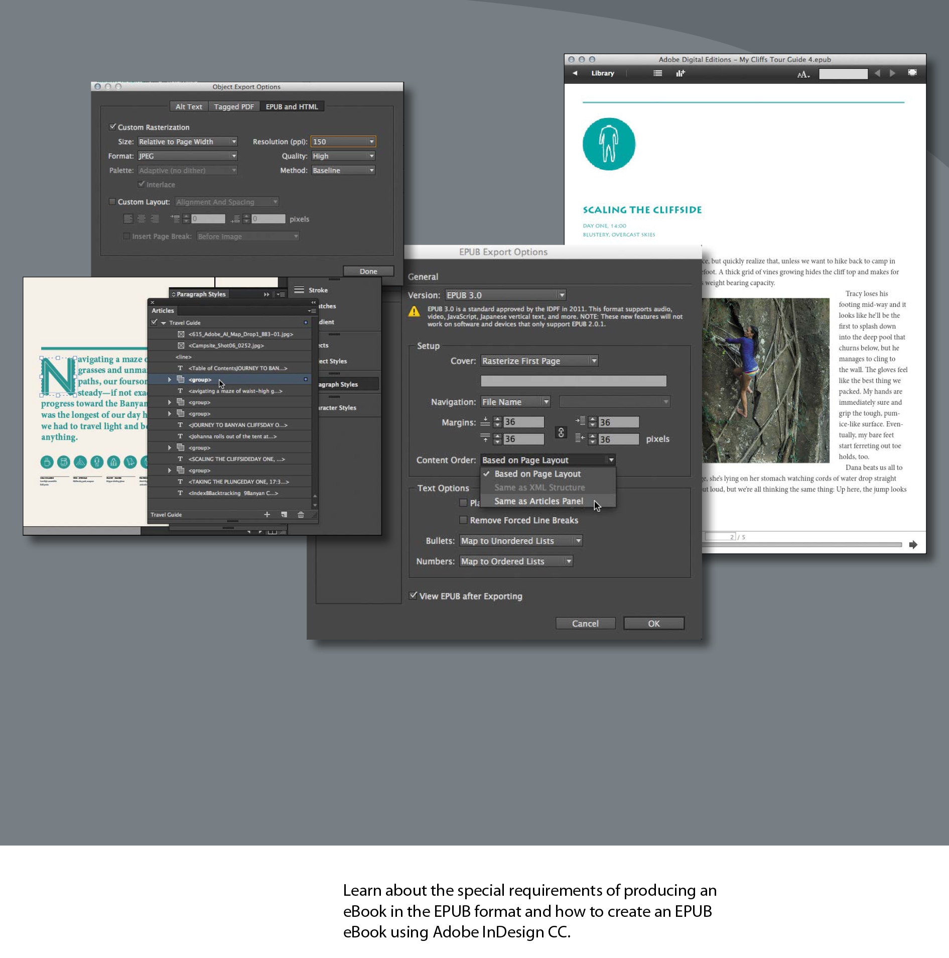 Creating eBooks with InDesign