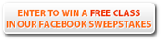 Enter to win a free class in our Facebook Sweepstakes